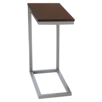 Bay Shore Collection Modern Accent Table - Espresso