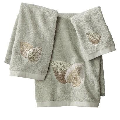 New Leaf 3 Piece Towel Set