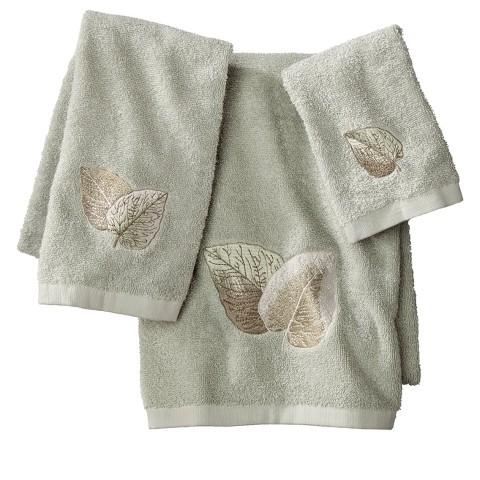 New Leaf 3-pc. Bath Towel Set