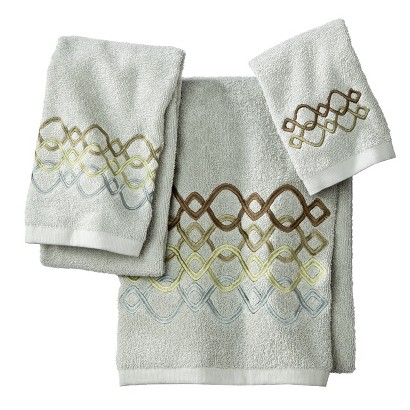 Ogi Geo 3 Piece Towel Set