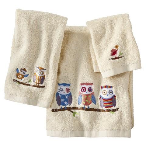 Whoo 3 Piece Towel Set