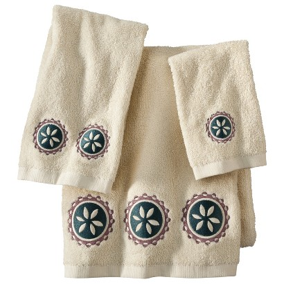 Ethnic Circles 3-pc. Bath Towel Set