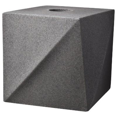 Geo Stone Tissue Box