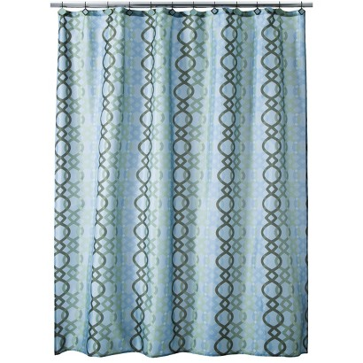 Ogi Geo Shower Curtain - 70x71""