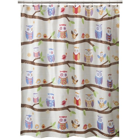 Whoo Shower Curtain - 70x71""