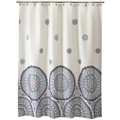 Ethnic Circles Shower Curtain - 70x71""