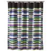 Techno Stripe Shower Curtain