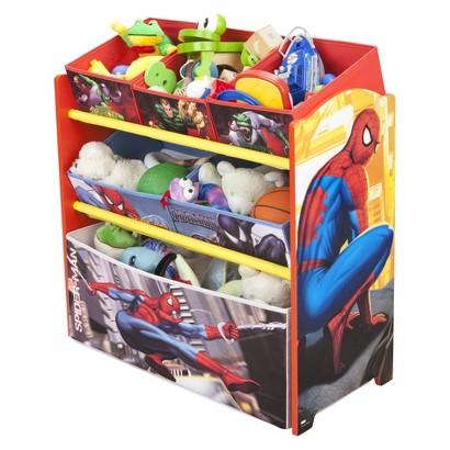Delta Children's Products Multi-Bin Toy Organizer - Spiderman