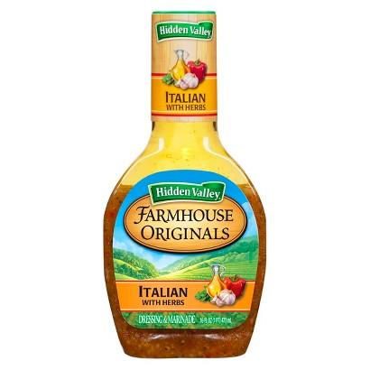 Hidden Valley Farmhouse Originals Italian Salad Dressing 16 oz