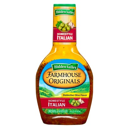 Hidden Valley Farmhouse Originals Homestyle Italian Dressing 16 oz