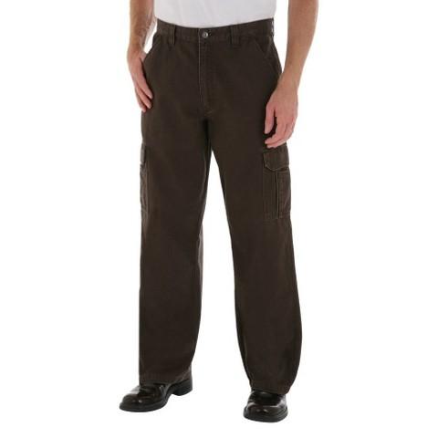 Wrangler® Men's Loose Fit Twill Cargo Pants