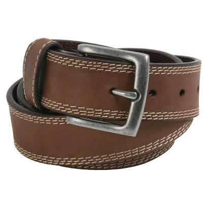 Wrangler® Mens Triple Contrast Belt - Brown