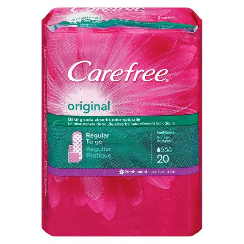 Carefree® Original Regular Pantliners - 20 Count