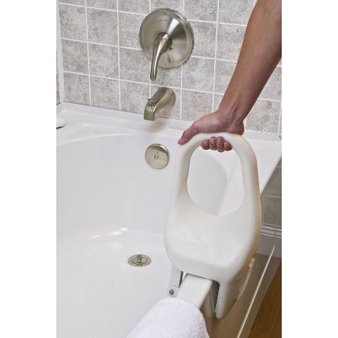 Lumex Tub-Guard® Bath Tub Safety Rails - White (12'')