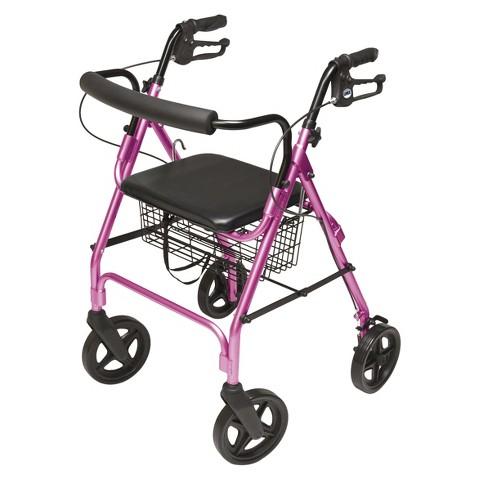 Lumex Walkabout Lite Four Wheel Rollator