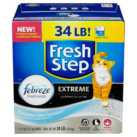 Fresh Step® Extreme Odor Control Cat Litter - 34 lb.