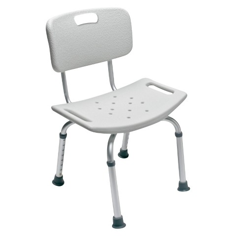 Lumex Platinum Collection Bath Seat with Back