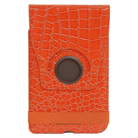 PC Treasures Props Pivot Leatherette Tablet Case for Kindle Fire - Tangerine (8349)