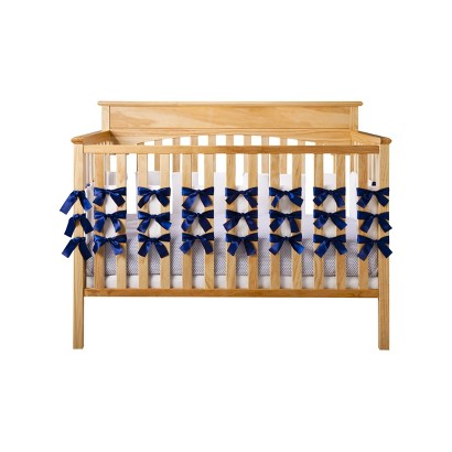 Oliver B 3-Piece Navy Crib Bedding Set