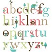Skip Hop Wall Decals Alphabet Zoo