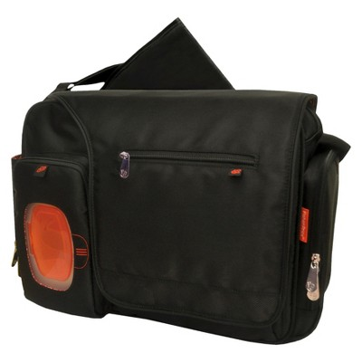 Fisher-Price FastFinder Messenger Diaper Bag - Black