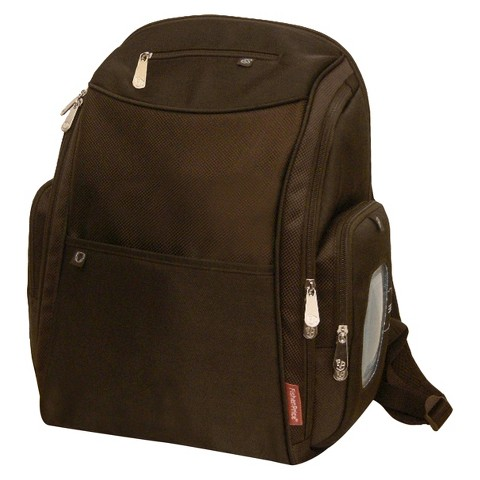 Fisher-Price FastFinder Dome Diaper Backpack - Brown