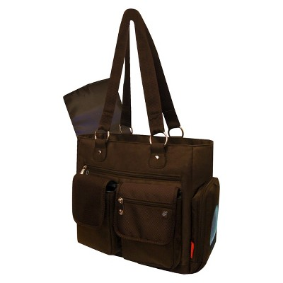Fisher-Price FastFinder Fashion Diaper Tote - Brown