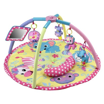 Infantino Animals Twist & Fold - Baby Girl