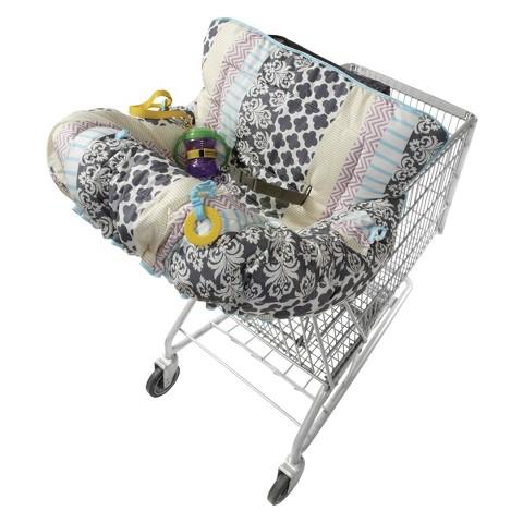 Infantino Plenty Cart & Highchair Cover - Mosaic Stripe