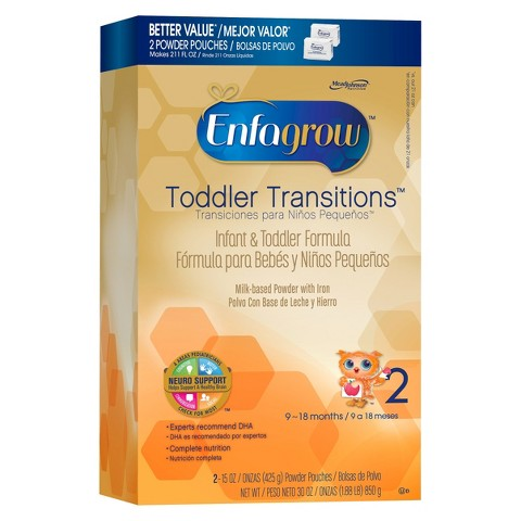 Enfamil Enfagrow Toddler Transitions Powder Formula Value Box - 30oz (4 Pack)