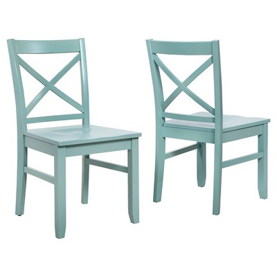 Carey Dining Chair - Pale Blue (Set of 2) - Threshold™