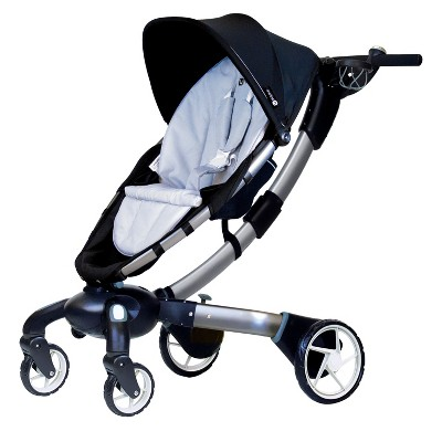 4moms® origami® Power Folding Stroller - Silver