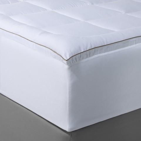 Fieldcrest® Luxury Comfort Mattress Pad - White