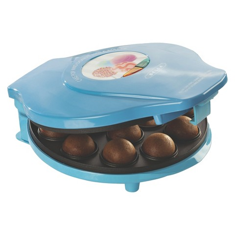 Bella Cake Pop & Donut Hole Maker, Turquoise