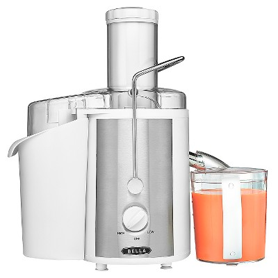 Bella 700 Watt Juice Extractor, White
