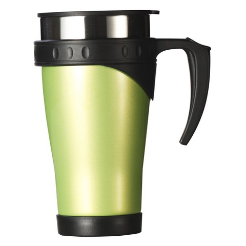 AKTive Lifestyle Timolino Thermal Travel Mug  - Lichen Green (16 oz)