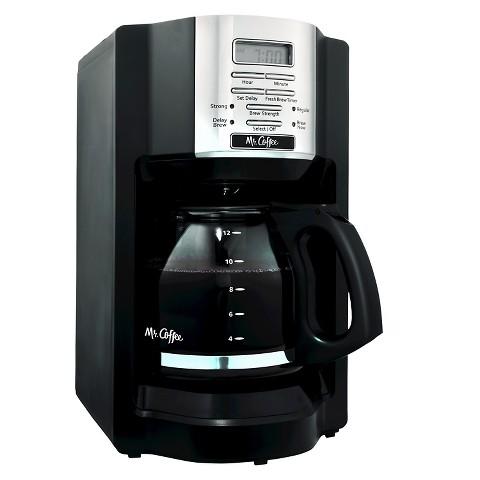 Mr Coffee Pro Coffee Maker : Mr. Coffee 12-Cup Programmable Coffeemaker : Target