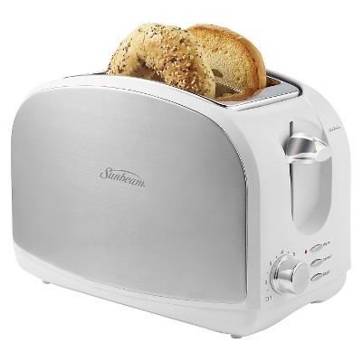 Sunbeam® 2-Slice Toaster, White,  TSSBTRSW03