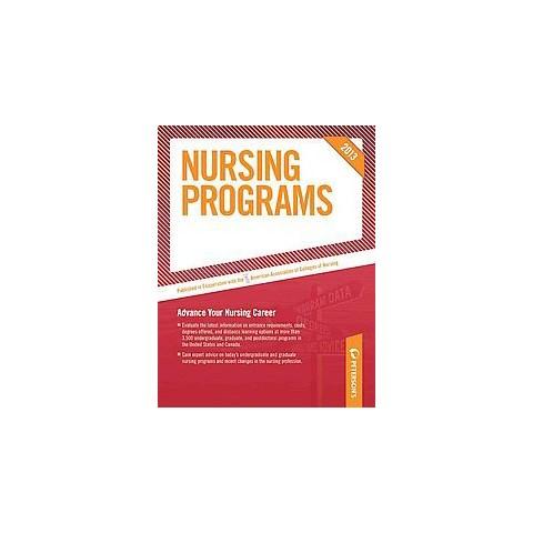Peterson's Nursing Programs 2013 (Paperback)