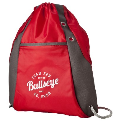 Red Drawstring FFF Backpack
