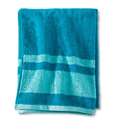 Fast Dry Bath Towel Turquoise - Room Essentials™