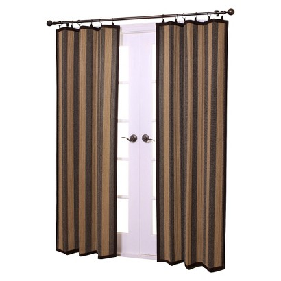 Versailles Bamboo Ring Top Window Panel