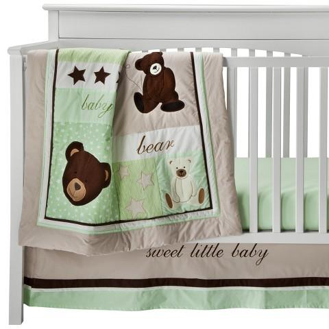 Baby Bear 10 Piece Bedding Set