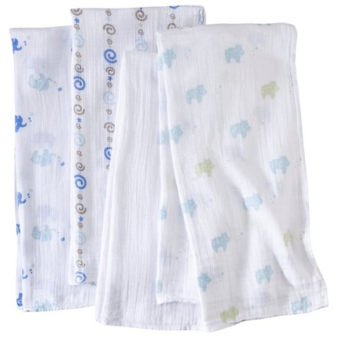aden® by aden + anais® swaddleplus® 4-pack, jungle jive