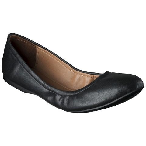 Women's Mossimo Supply Co. Ona Scrunch Ballet Flat