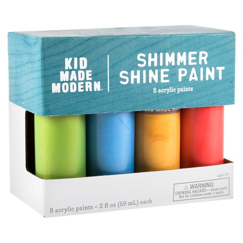 Kid Made Modern 8ct Acrylic Paints 2oz