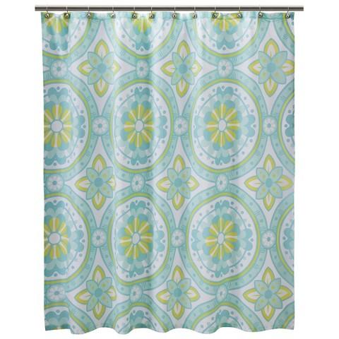 "Dream Shower Curtain - Blue Marine (72x72"")"