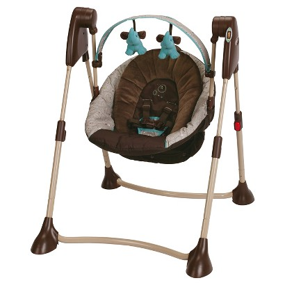 Graco® Swing By Me™ 2-in-1 Portable Swing