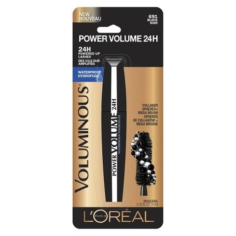 L'Oréal® Paris Voluminous Power Volume 24H Mascara