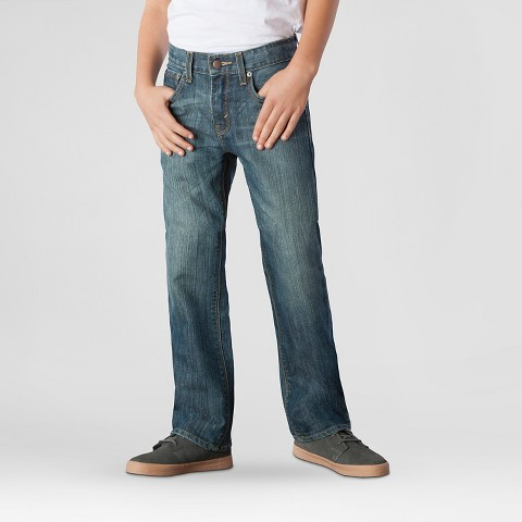 DENIZEN® from Levi's® Boy's 218™ Slim Straight Jeans - Blue Chip